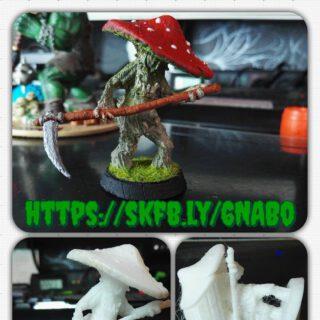 Tabletop Mushroom Monster  https://skfb.ly/6NABo  #dennisgraf #3dprinting #3dprinted #3dprint #3dprintmodel #thingiverse #maerkische_schlachtfelder  #tabletop  #tabletopgame  #tabletopgames #miniatures #minipainting  #modelpainting #paintingminis  #paintingminiatures  #wargames #dungeonsanddragons #nemoriko.de #nemoriko3d #nemoriko3design  #nemoriko3ddesign