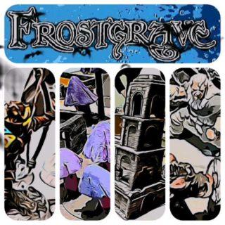 Frostgrave Action 01  #maerkische_schlachtfelder #tabletop #tabletopgames #tabletopgaming #dennisgraf #nemoriko3ddesign #frostgrave