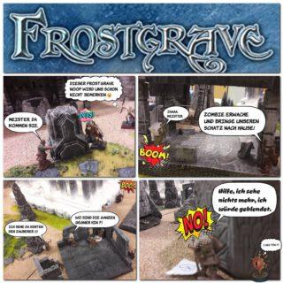 Frostgrave Story's: No.01  #frostgrave #maerkische_schlachtfelder #tabletop #miniaturegames #dennisgraf
