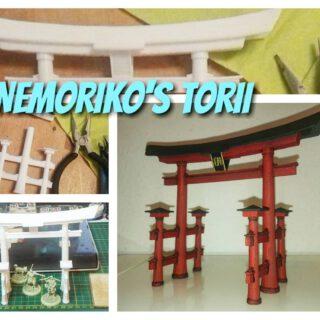 Torii Finish  #tabletop #tabletopgames #tabletopgame #wargaming #wargames #3d #3dprinting #3dprint #dennisgraf #maerkischeschlachtfelder #terrain #torii #bushidothegame #japan #nippon  #stl #pla #obj #Modellbau