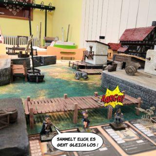 Freebooters Gate Duel  #freebooters #freebootersfate  #Tabletop #tabletopgames  #tabletopgaming  #diorama  #maerkische_schlachtfelder  #maerkischeschlachtfelder  #dennisgraf