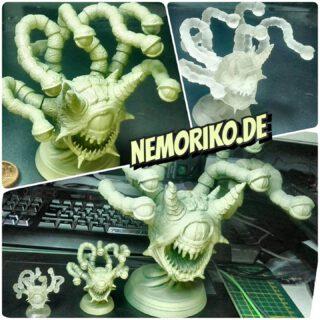 So die Drucke sind fertig, die oberen kommen vom Elegoo Mars und der gr. vom Ender. Jetzt muss nur noch Farbe ran. #tabletop #tabletopgaming #3dprint #3dprinting  #dennisgraf #dungeonsanddragons #d&d #behold #beholder #nemoriko.de #nemoriko3d #nemoriko3design  #nemoriko3ddesign #nemoriko_de #nemoriko_3d #nemoriko_3d_design #nemoriko3d_design #nemoriko-3d #nemoriko3d-design #nemoriko-3d-design