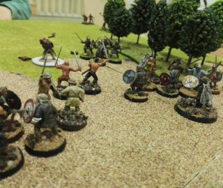 Hilfe, die Vikinger kommen.😉 #maerkische_schlachtfelder  #dennisgraf  #vikings  #tabletop  #tabletopgames  #tabletopgaming  #saga